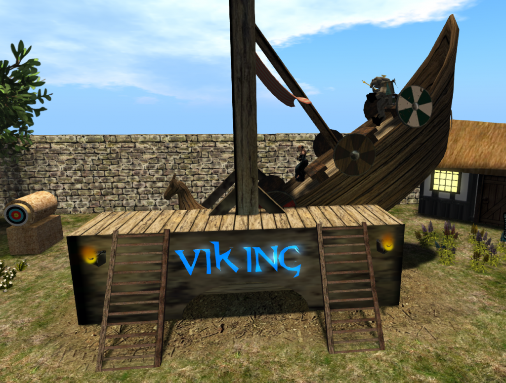 Viking Ride! Hold onto your...shields?