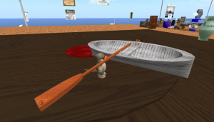 TesterSpec's rowing boat